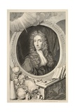Portrait of the Hon Robert Boyle  Illustration from 'Heads of Illustrious Persons of Great…
