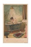 Lady in Bath