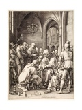 """Circumcision  from the Series """"The Life of the Virgin""""  1593/94"""