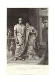 Caesar and Calphurnia  Julius Caesar  Act II  Scene II