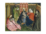 Madonna and Child with Saints in the Enclosed Garden  C 1440- 60