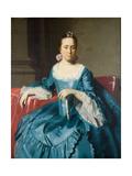 Portrait of Mrs Roland Cotton  C1763