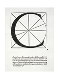 C  Illustration from 'Divina Proportione' by Luca Pacioli (C1445-1517)  Originally Pub Venice …