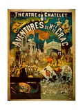 Adventures of Mr De Crac - French Circus Poster