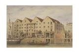 View of Chamberlain's Wharf  Tooley Street  1846
