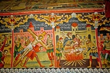 Fresco Inside St Mary's Church  Leusa  Albania