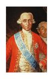 Portrait of Don Jose Monino Y Redondo I  Conde De Floridablanca  1783 (Detail)