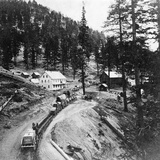Swift's Station  Carson and Lake Bigler Road  California  from 'Gems of California Scenery'…