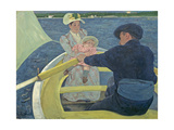 The Boating Party  1893-94