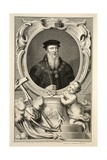 Portrait of John Russell  Illustration from 'Heads of Illustrious Persons of Great Britain'  Pub…