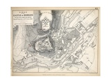 Map of the Siege of the Castle of Burgos  Published by William Blackwood and Sons  Edinburgh and…