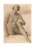Study of a Female Nude  C1857