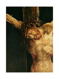 Christ on the Cross  Detail from the Central Crucifixion Panel of the Isenheim Altarpiece …