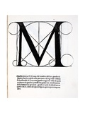 M  Illustration from 'Divina Proportione' by Luca Pacioli (C1445-1517)  Originally Pub Venice …