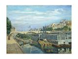 The Bridge of Louis Philippe  1875
