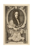 Portrait of Daniel  Earl of Nottingham  Illustration from 'Heads of Illustrious Persons of Great…