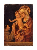 The Madonna and Child with a Franciscan Monk in Adoration