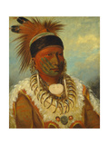 The White Cloud  Head Chief of the Iowas  1844-45