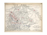 Map of the Battle of Salamanca  Published by William Blackwood and Sons  Edinburgh and London  1848