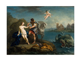 Perseus Freeing Andromeda  Late 1730s