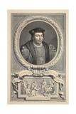 Portrait of Henry Stafford  Duke of Buckingham  Illustration from 'Heads of Illustrious Persons…