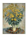 Jerusalem Artichoke Flowers  1880