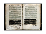 Censorship in the Book Ratione Conscribendi Epistle by Erasmus of Rotterdam  1747