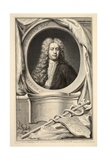 Portrait of William Wyndham  Illustration from 'Heads of Illustrious Persons of Great Britain' …