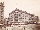 Lit Brothers  Market Street at 8th  Northeast Corner  1898