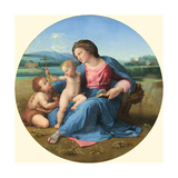 The Alba Madonna  C 1510