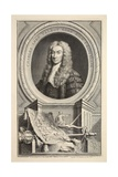 Portrait of Charles  Lord Talbot  Illustration from 'Heads of Illustrious Persons of Great…