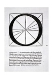 O  Illustration from 'Divina Proportione' by Luca Pacioli (C1445-1517)  Originally Pub Venice …