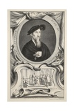 Portrait of Edward Seymour  Duke of Somerset  Illustration from 'Heads of Illustrious Persons of…