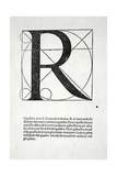R  Illustration from 'Divina Proportione' by Luca Pacioli (C1445-1517)  Originally Pub Venice …