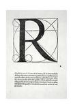 R  Illustration from 'Divina Proportione' by Luca Pacioli (C1445-1517)  Originally Pub Venice …