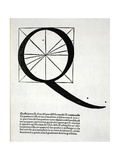 Q  Illustration from 'Divina Proportione' by Luca Pacioli (C1445-1517)  Originally Pub Venice …