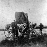 Alexander Gardner's Darkroom on Wheels  1867