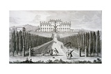 View of the Villa Del Castel' Pulci  Seat of the Marchese Riccardi  from 'Views of Tuscany' by…