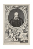 Portrait of George Buchanan  after Frans Pourbus  Illustration from 'Heads of Illustrious Persons…