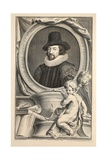 Portrait of Francis Bacon  Viscount of St Albans  Illustration from 'Heads of Illustrious Persons…