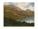 View from the Rigi Overlooking Lake Lucerne  1857