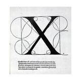 X  Illustration from 'Divina Proportione' by Luca Pacioli (C1445-1517)  Originally Pub Venice …
