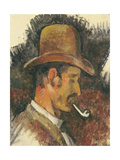 Man with Pipe  1892-96