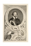 Portrait of Thomas Wentworth  Earl of Stratford  Illustration from 'Heads of Illustrious Persons…