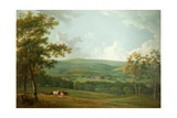 A Distant View of Towneley Hall  C1777