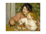 Child with Toys  Gabrielle and the Artist's Son  Jean  1895-96