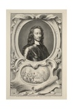 Portrait of John Hampden  Illustration from 'Heads of Illustrious Persons of Great Britain'  Pub…