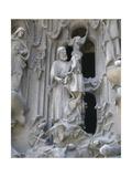 Spain Barcelona Basilica and Expiatory Church of the Holy Family The Nativity St Joseph and…