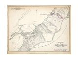 Map of the Battle of Alexandria  Published by William Blackwood and Sons  Edinburgh and London …