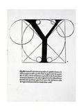 Y  Illustration from 'Divina Proportione' by Luca Pacioli (C1445-1517)  Originally Pub Venice …